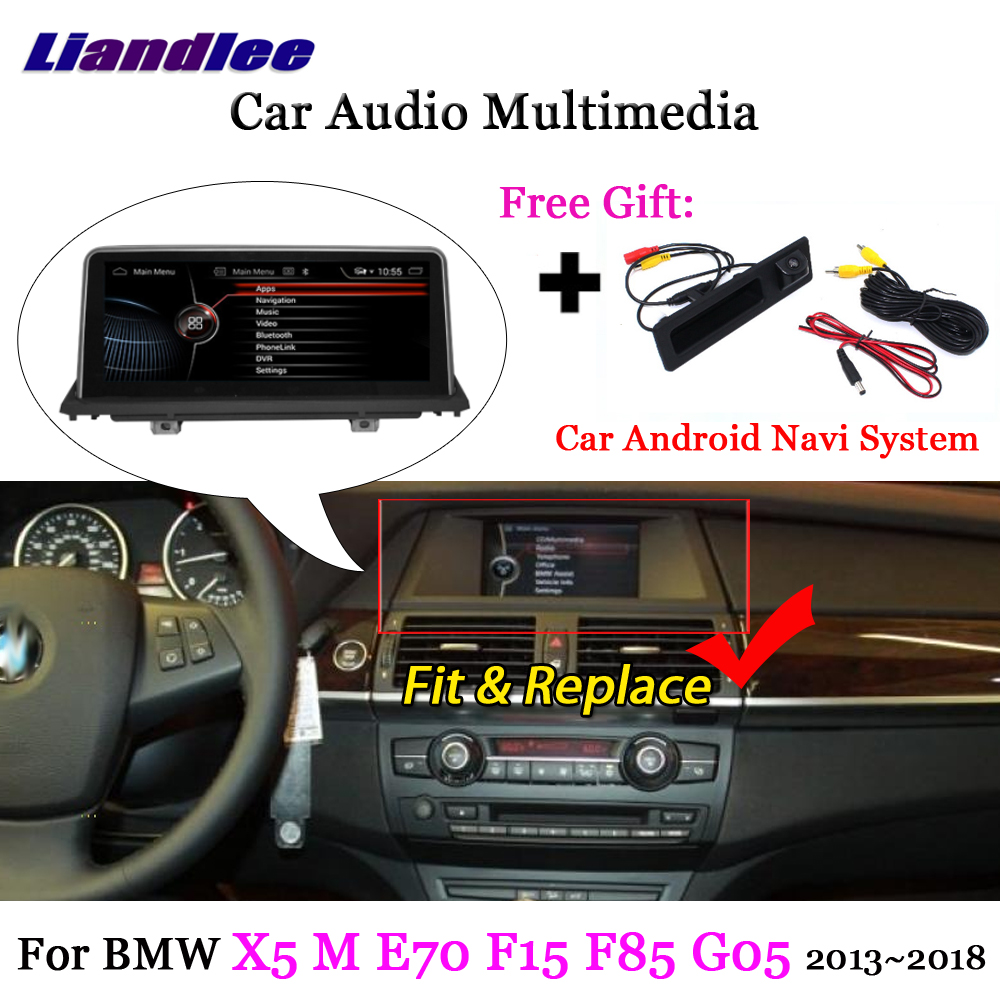 Liandlee Android For BMW X5 M E70 F15 F85 G05 2013~2018 Stereo Radio TV Carplay Camera AUX BT GPS Map Navi Navigation Multimedia liandlee android for volvo xc60 xc 60 2008 2017 stereo radio carplay parking camera tv wifi aux gps navi navigation multimedia