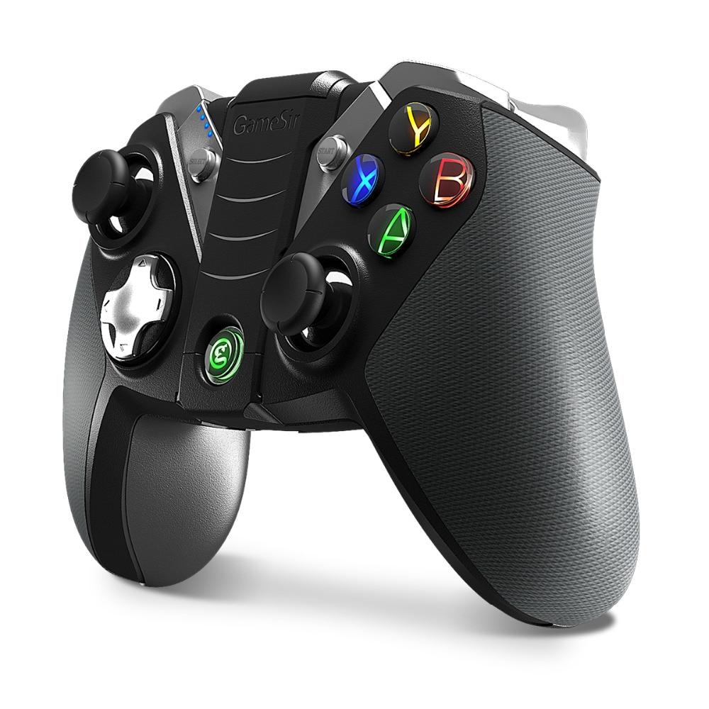 GameSir G4s bluetooth sans fil Gamepad joystick de jeu jouer pour boîtier de télévision androïde tablette smartphone PC VR, avec 2.4G USB Dongle