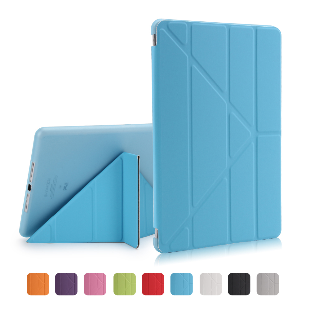 Купить с кэшбэком Case for iPad Air, Flip Stand case For ipad 5 6 2017 2018,PU leather Full case for ipad air 2 smart cover for iPad Air 1 Cases