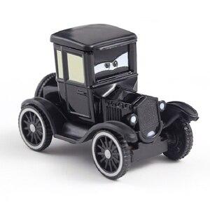 Image 2 - Disney Pixar Cars 2 Lightning McQueen Jackson Storm Cruz Mater Uncle Truck 1:55 Diecast Metal Car Model Christmas Gift Child Toy