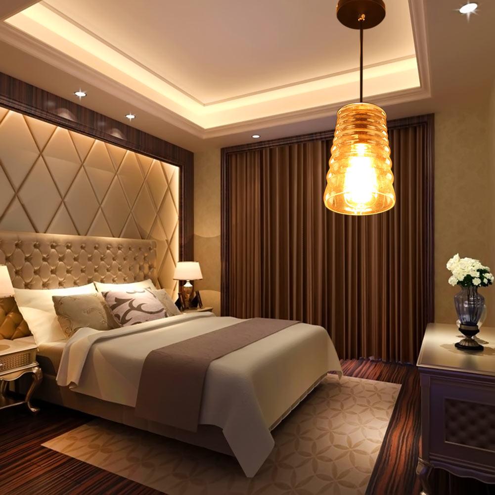 Moderne led hängelampe für küche esszimmer gewinde kristall pendelleuchte für wohnzimmer lamparas de techo leuchten