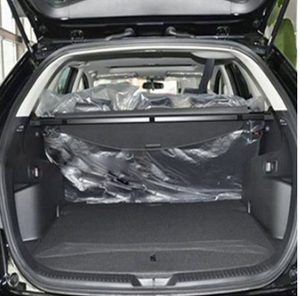 Car Rear Trunk Security Shield Cargo Cover For Mazda CX7 CX-7 2014.2015.2016.2017 High Qualit Auto Accessories car rear trunk security shield cargo cover for subaru tribeca 2006 07 08 09 10 11 2012 high qualit black beige auto accessories