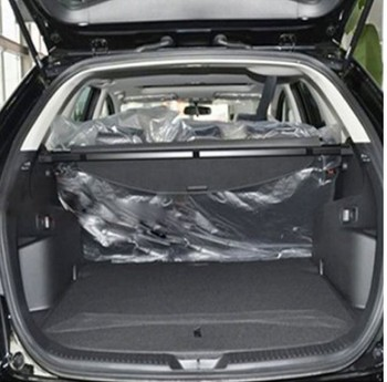 Car Rear Trunk Security Shield Cargo Cover For Mazda CX7 CX-7 2014.2015.2016.2017 High Qualit Auto Accessories