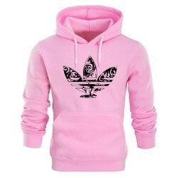2018 New brand Hoodie Streetwear Hip Hop red Black gray pink Hooded Hoody Mens Hoodies and Sweatshirts Size M-XXL 6