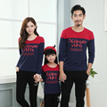 Letter Print Autumn Sweatshirt Daddy Boy Mother Daughter Family Matching Clothing Family Set Women Striped Fall Shirt YY11