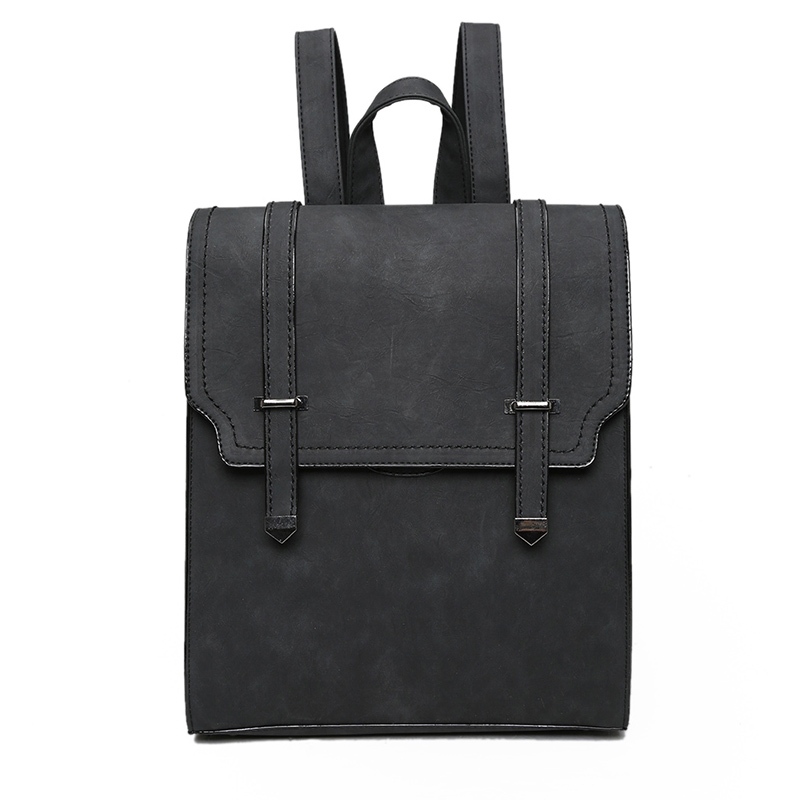 где купить  High quality women PU Leather Backpack vintage backpacks school bags for college travel bag Ladies Casual Daily Rucksack  по лучшей цене