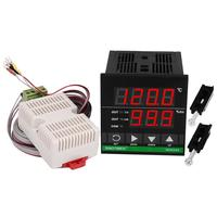LCD Digital Display Temperature And Humidity Controller For Industrial Barn Hatching Greenhouse Breeding