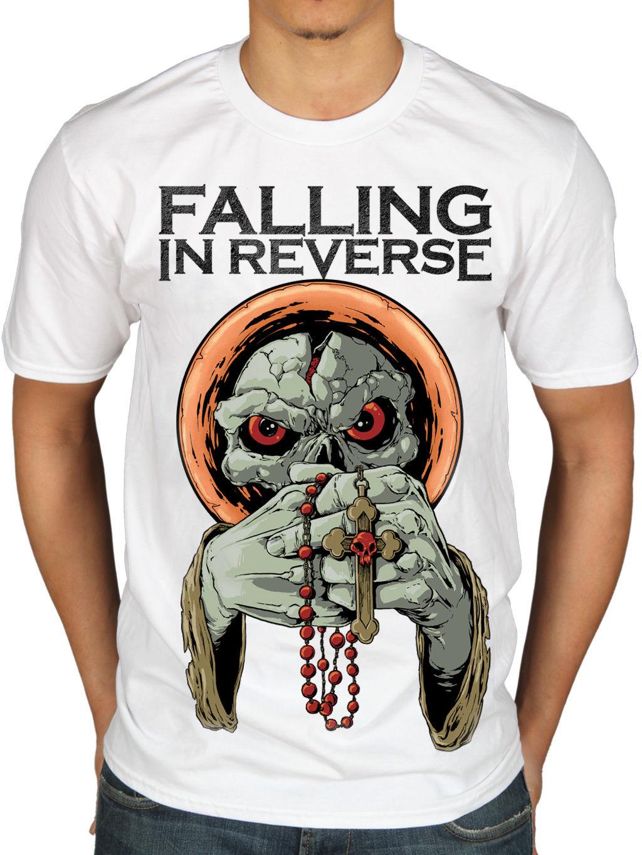 Official Falling In Reverse IM NO SAINT T-SHIRT ROCK DIVIETO Merchandise
