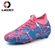 Fútbol zapatos Fly hombres botas de fútbol niños alto tobillo Superfly  fútbol largas espigas fútbol entrenadores e19e074fe937f