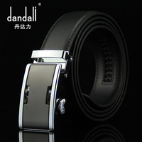 2016 New Brand Men S Leather Belt Automatic Buckle Belt Cow Leather Trousers Laser Business Hollow