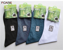 Fcare Drop shopping 12PCS=6 pairs European version of the male nylon socks stockings sock ultra-thin plus size men's male socks