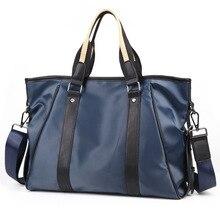 New Mens Korean Fashion Leisure Nylon Handbag Fashionable Light Cloth Slant Single Shoulder