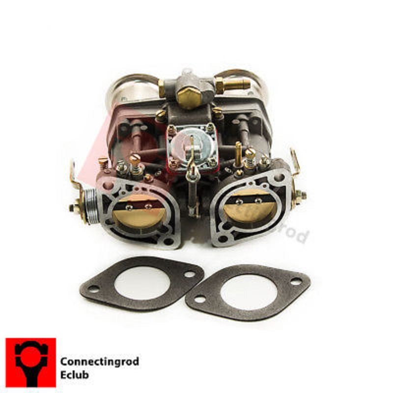 NEW 44IDF Carburetor With Air Horn For Bug/Beetle/VW/Fiat/Porsche replece weber carb new 44 idf 44idf carburettor carby replacement for solex dellorto weber empi carby
