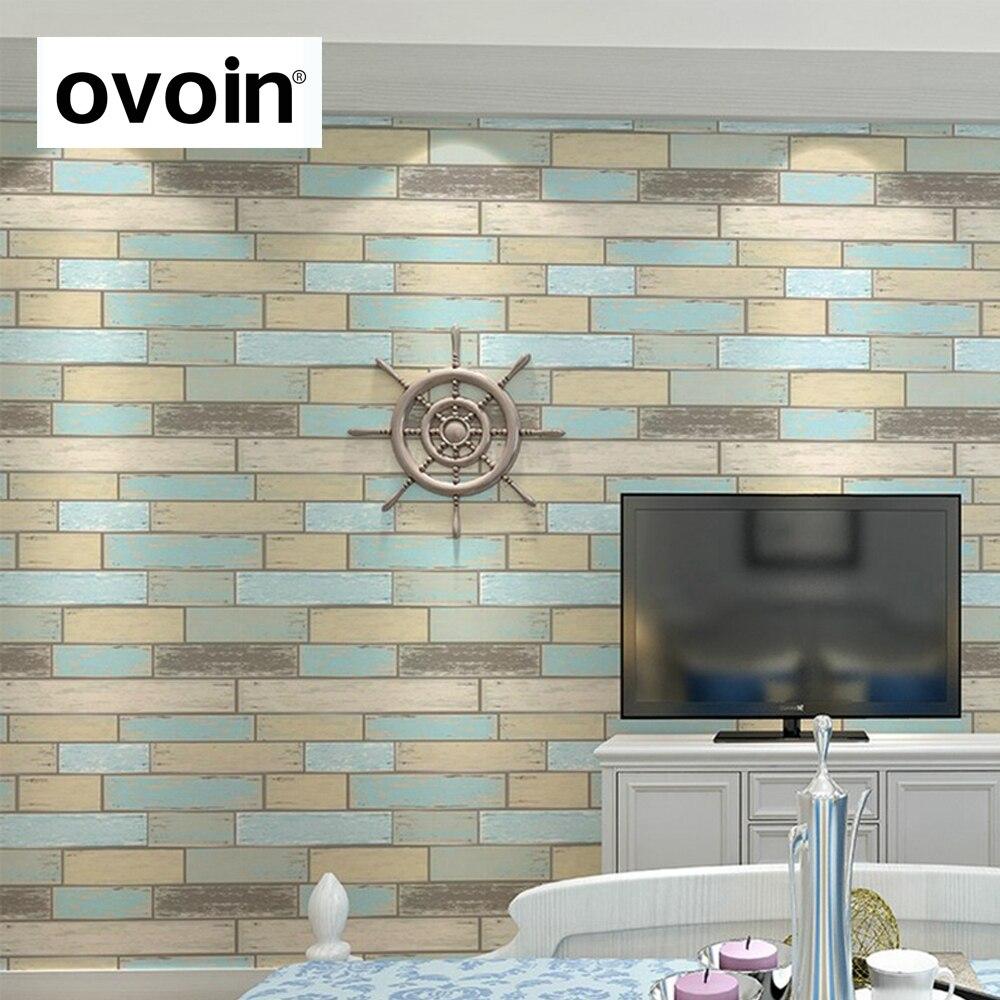 Moderne Strukturierte Ziegel Tapete Für Wand Vinyl Holz ...