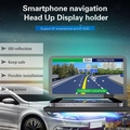 new arrival Car Mobile Phone Holder GPS Navigator HUD Bracket Head Up Display For Car Stand Folding Holder smart phone bracket