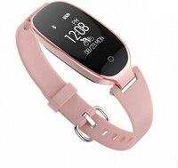 NEW Fashion Smart Band Bracelet Girl Women Heart Rate Monitor Wrist Smart Wristband Lady Female Fitness Tracker Wristband