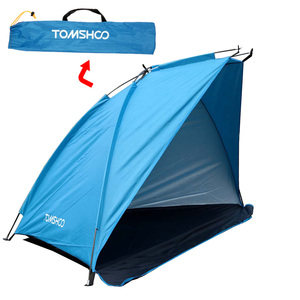 Image 5 - TOMSHOO Outdoor Beach Tent Sunshine Shelter 2 Person Sturdy  170T Polyester Sunshade Tent for Fishing Camping Hiking Picnic Park