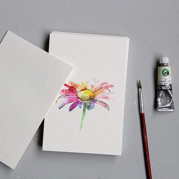 The Watercolor Paper Blank Diy Postcard Paper Hand Painted