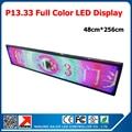 48 * 256 см из светодиодов вывеска открытый p13.33 из светодиодов жк-модуль 320 * 160 мм 24 * 12 пикселей DIP из светодиодов табло
