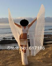 New Egyptian Tribal Belly Dance Costume Isis Wings White HOT !!!