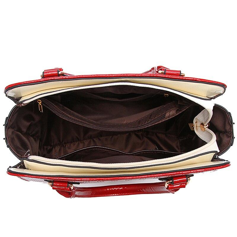 as mulheres bolsas de couro Tipo de Bolsa : Sacolas de Viagem
