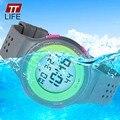 TTLIFE Sport Casual Watch Reloj Militar Con Digital LED Multifuncionales de Pulsera 50 M Impermeable 67866 de La Venta Caliente