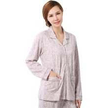 The new 2017 hot spring and summer long sleeve cotton women pajamas M XXXL size elegant