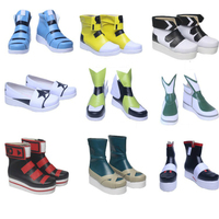 Anime Cosplay Shoes for Greg Kylie Ross Flats Casual Sneakers TPR Sole PU Leather Vestidos Costumes in Halloween Carnival Party