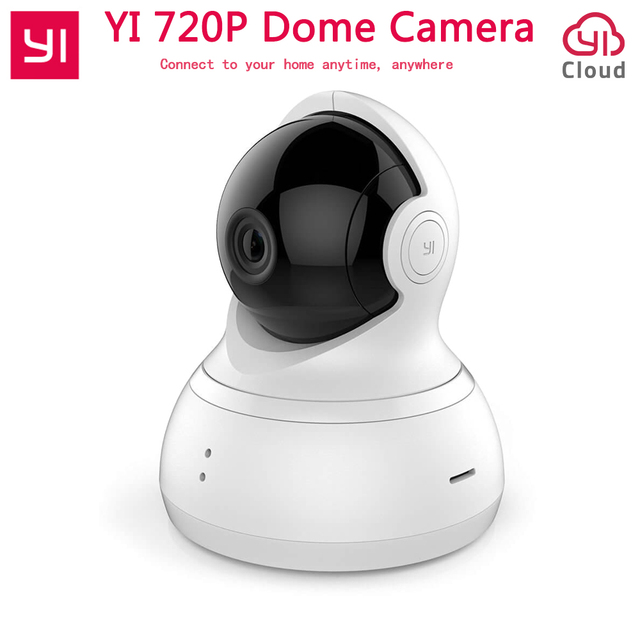 Internation Edition XIAOMI YI Dome Accueil Camera 112 Degre 720 P IP De Vision Nocturne