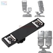 Dual Hot Shoe Sync TTL Off Camera Arm Bracket Splitter Trigger for Nikon D7500 D7200 D800 D600 SB910 SB900 SB 5000 SB700 SB 500