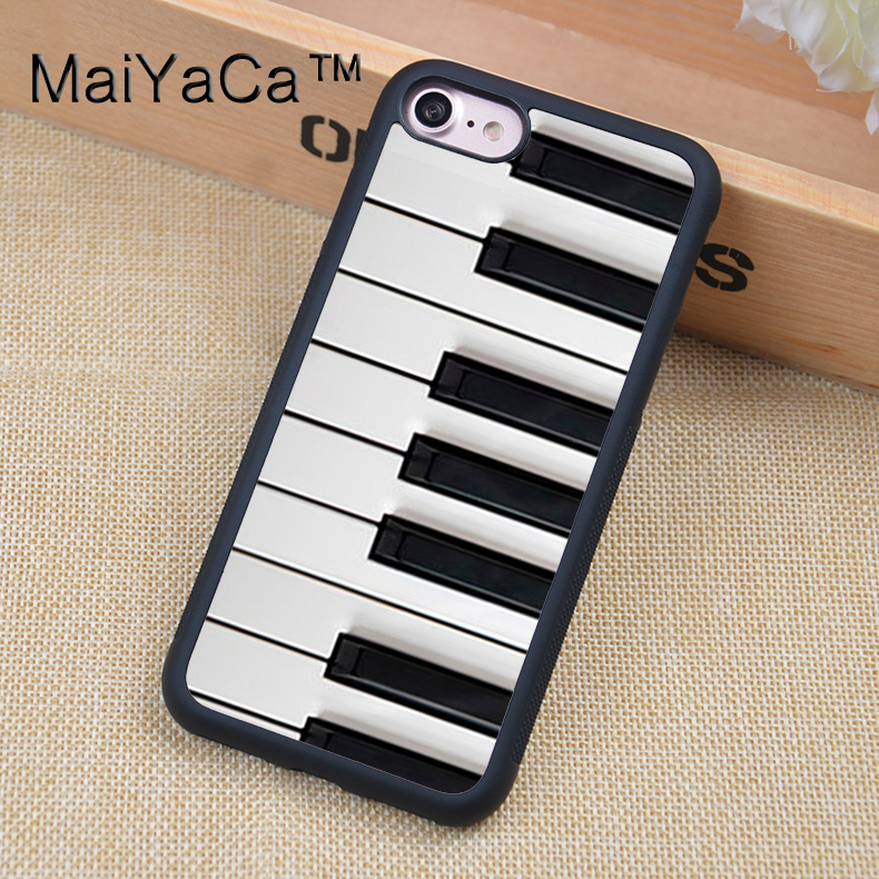 maiyaca retro piano keyboard phone case for apple iphone 6 6s soft tpu pc cases back cover capa. Black Bedroom Furniture Sets. Home Design Ideas