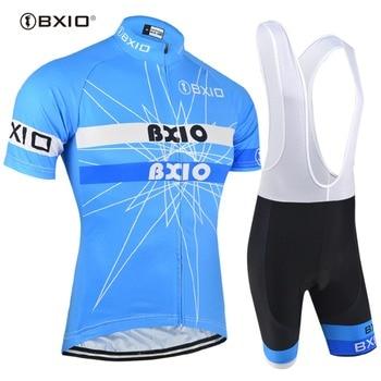 BXIO-Conjuntos De camisetas De Ciclismo 113, Ropa De Ciclismo profesional