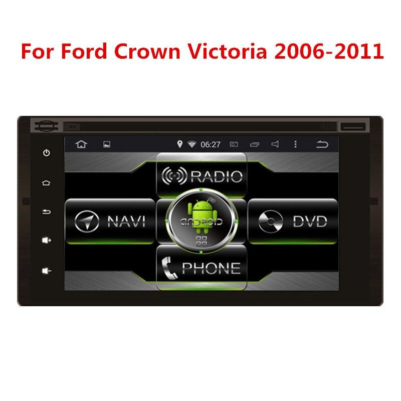 Completo panel táctil de Coches DVD para Ford Crown Victoria 2006-2011 con Siste