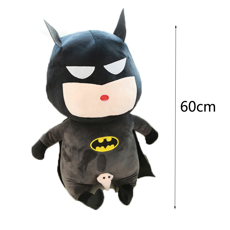 60-Cm-Toy-Doll-Avengers-Captain-America-Superman-Spider-man-Batman-Plush-Toys-Dolls-Soft-Cute-Crayon-Shin-chan-Cosplay-Japan-Cartoon-TY0019 (7)