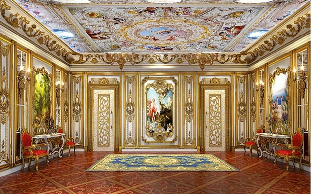 3d Bathroom Wallpaper Angel Living Room Ceiling Classic Painting Wallpaper  Home Decoration Decor Wallpaper