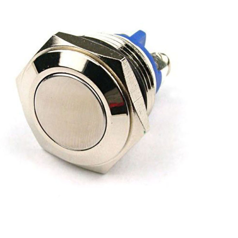 "12mm 1//2/"" Anti-Vandal Momentary Metal Push button Switch Dome Top for box mods"