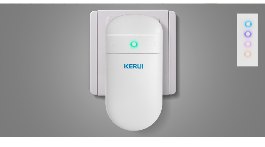 wireless doorbell volume adjust