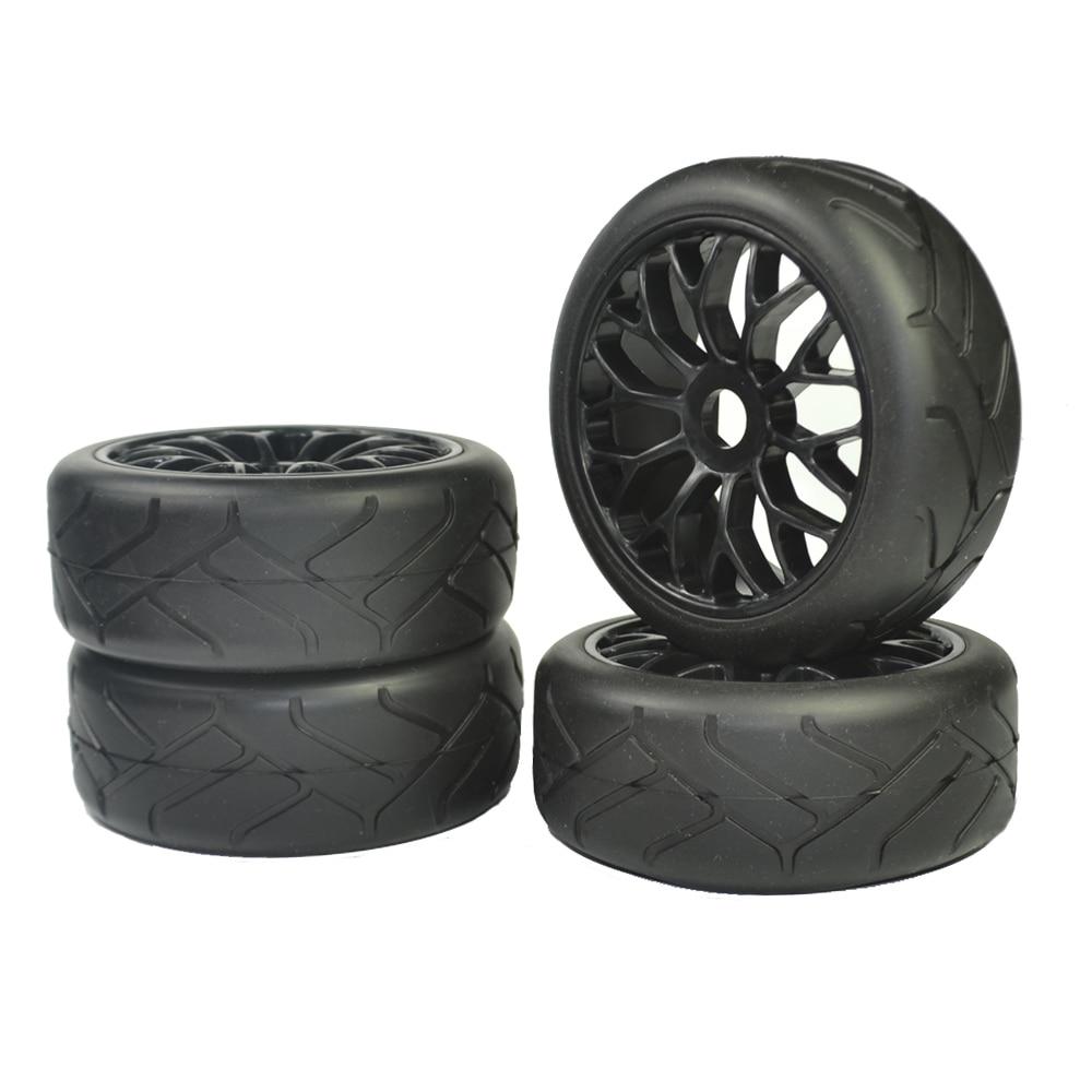 1/8 Buggy (on road tires) 17mm (for kyosho/hobao/HSP/HPI) 4pcs tires