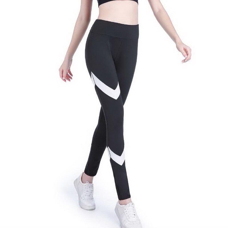 Vertvie серый черный Фитнес тренажерный зал спортивной хип спортивные Леггинсы колготки печатных брюки Йога тренировки гибкие упругие талии