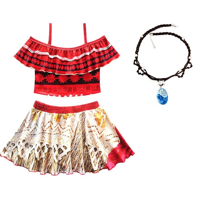 2018 Baby summer robe fille Moana Girls dress vaiana Bikini one piece Swim Bow wear Kids Children beach dress Swimsuits biquini чайник заварочный 750 мл mayer