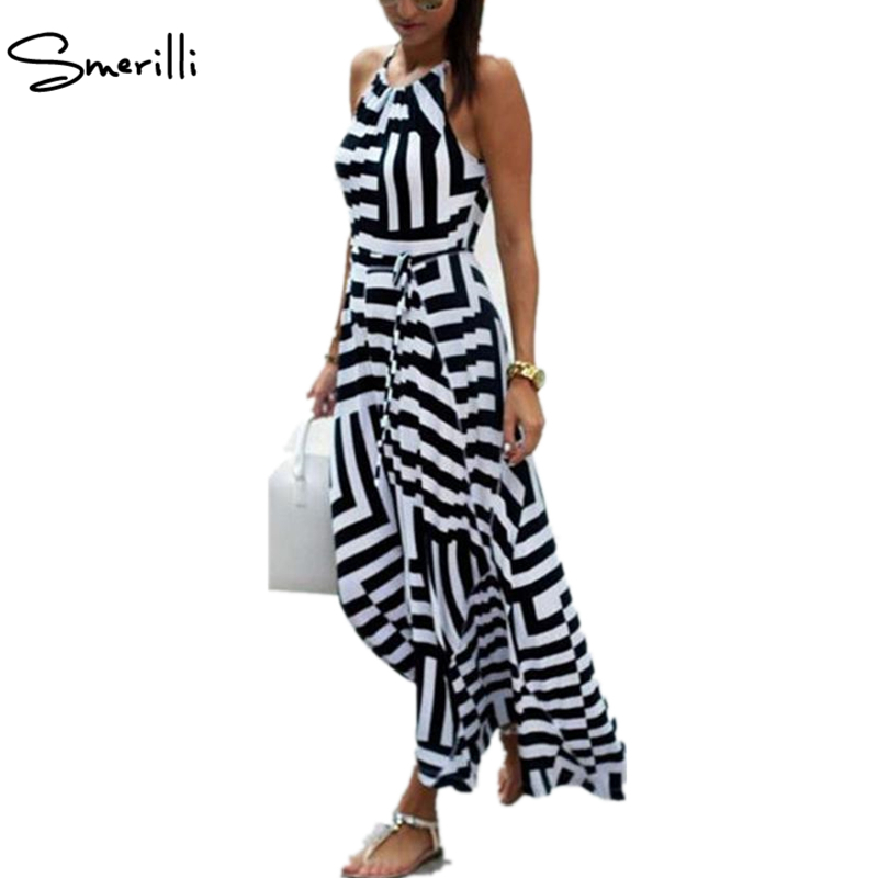 Women Summer Long Dress 2018 Sexy Casual Geometric Print Boho Long Maxi Beach Dress Evening Party Bodycon Dress Sundress Vestido