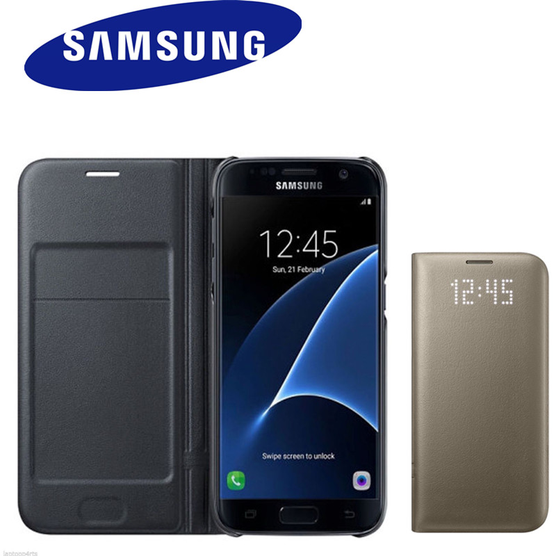 Samsung Original LED View Smart Cover Phone Case For Samsung S8 s8+ With Sleep Function 6 color