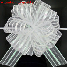 5pcs/lot Large Organza  Pull Bow Ribbon for Craft , Wedding Decoration, Gift Packing 50mm 7LH18