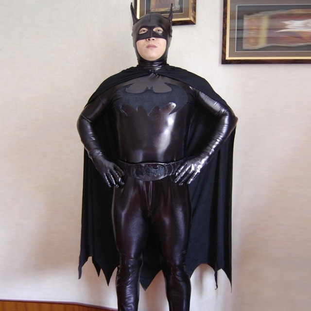 high quality black batman halloween costumes for men adult child lycra spandex zentai anime superhero cosplay