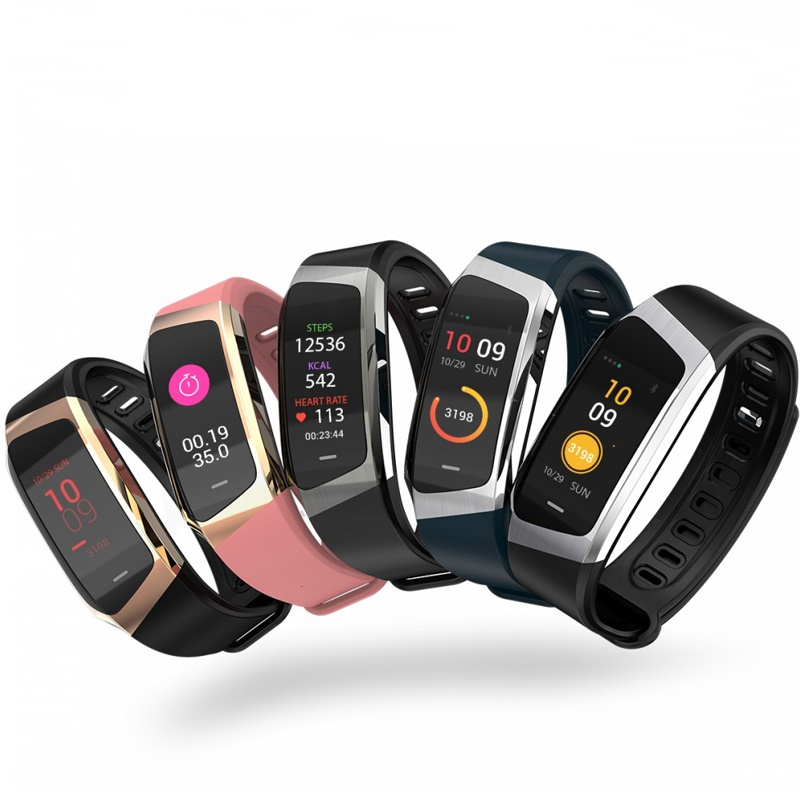 Smart Bracelet E18 Band IP68 0.96 Inch Colorful Screen Waterproof Smart Sport Fitness Bracelet Smart Heart Rate TrackerSmart Bracelet E18 Band IP68 0.96 Inch Colorful Screen Waterproof Smart Sport Fitness Bracelet Smart Heart Rate Tracker
