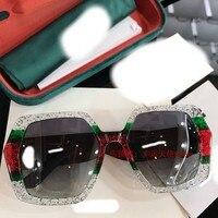 2019 luxury Runway sunglasses women brand designer sun glasses for women Carter glasses Y0105