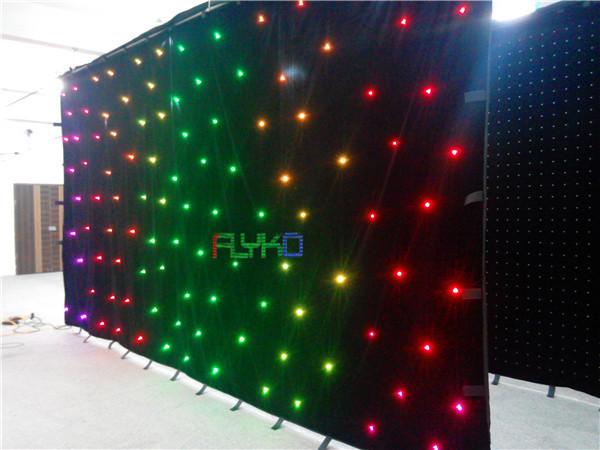 Envío gratis led dance floor led cortina de estrellas 3 x 6 m envío gratis