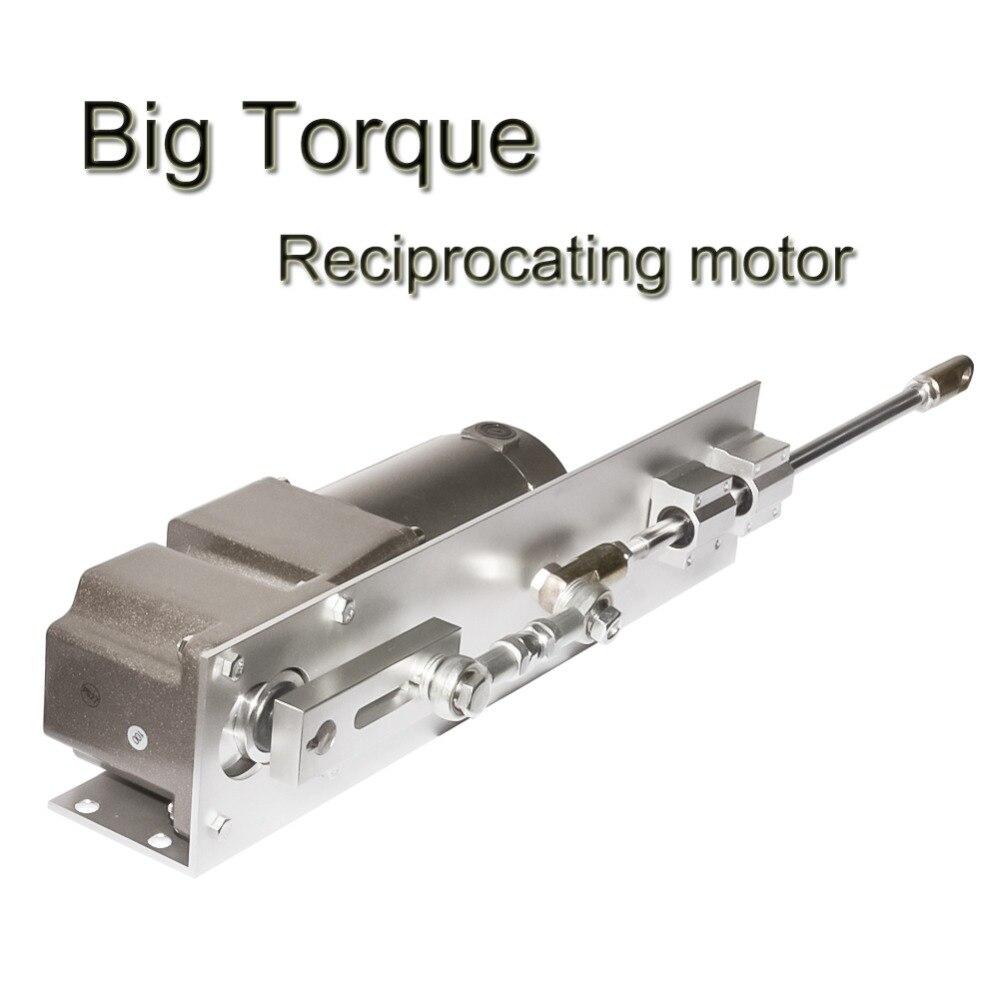 DC DIY поршневые двигатель линейный привод 12 V 24 V 90 V Ход 50 ~ 160 мм большой крутящий момент Скорость дополнительно для Комплектующие для самостоя