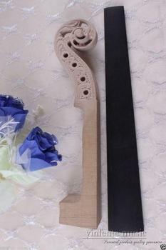 4/4 violin Neck hand carved maple ebony Violin fingerboard High-grade Violin parts & Accessories #464