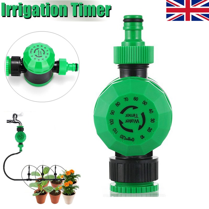 Automatic Electronic Home Ball Valves Water Timer Garden Watering Timer Irrigation Controller System Garden Hose Kit(China)